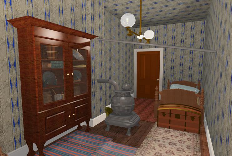 Clara Barton's Apartment