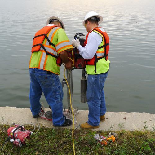 On-Site Concrete Bulkhead Testing and Investigation