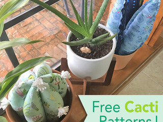 Free Cactus Pattern Bundle