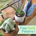Free Cactus Pattern Bundle