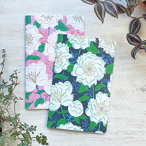 Large Notebook - Camelias