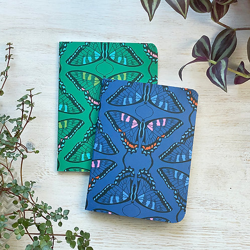 Small Notebook - Swallowtail