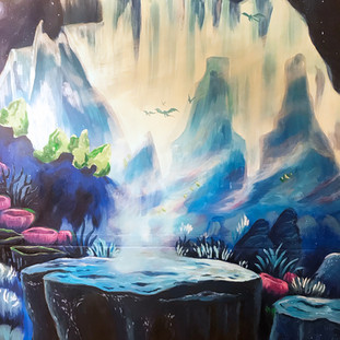 Background mural