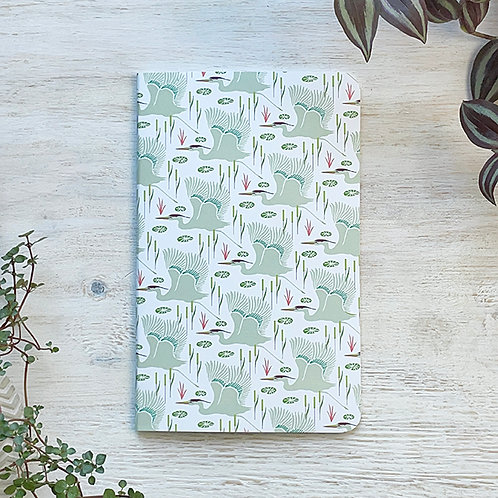 Large Notebook - Wetlands (Fog)