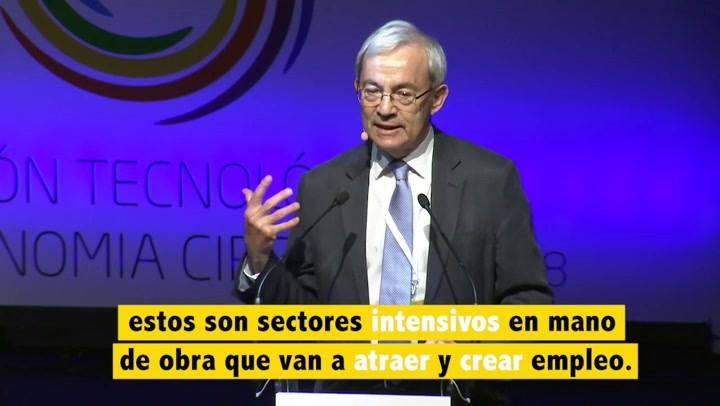 Christopher Pissarides, Premio Nobel de Economía, 2010.