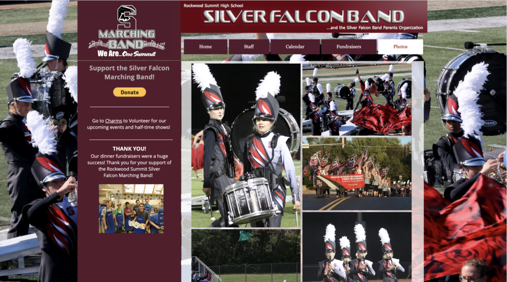 Silver Falcon Marching Band Gallery