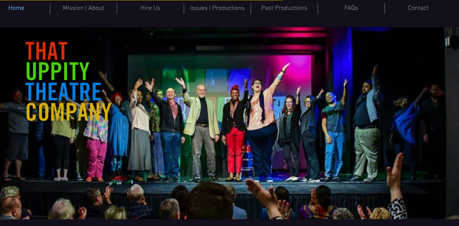 That Uppity Theatre Company Home Page