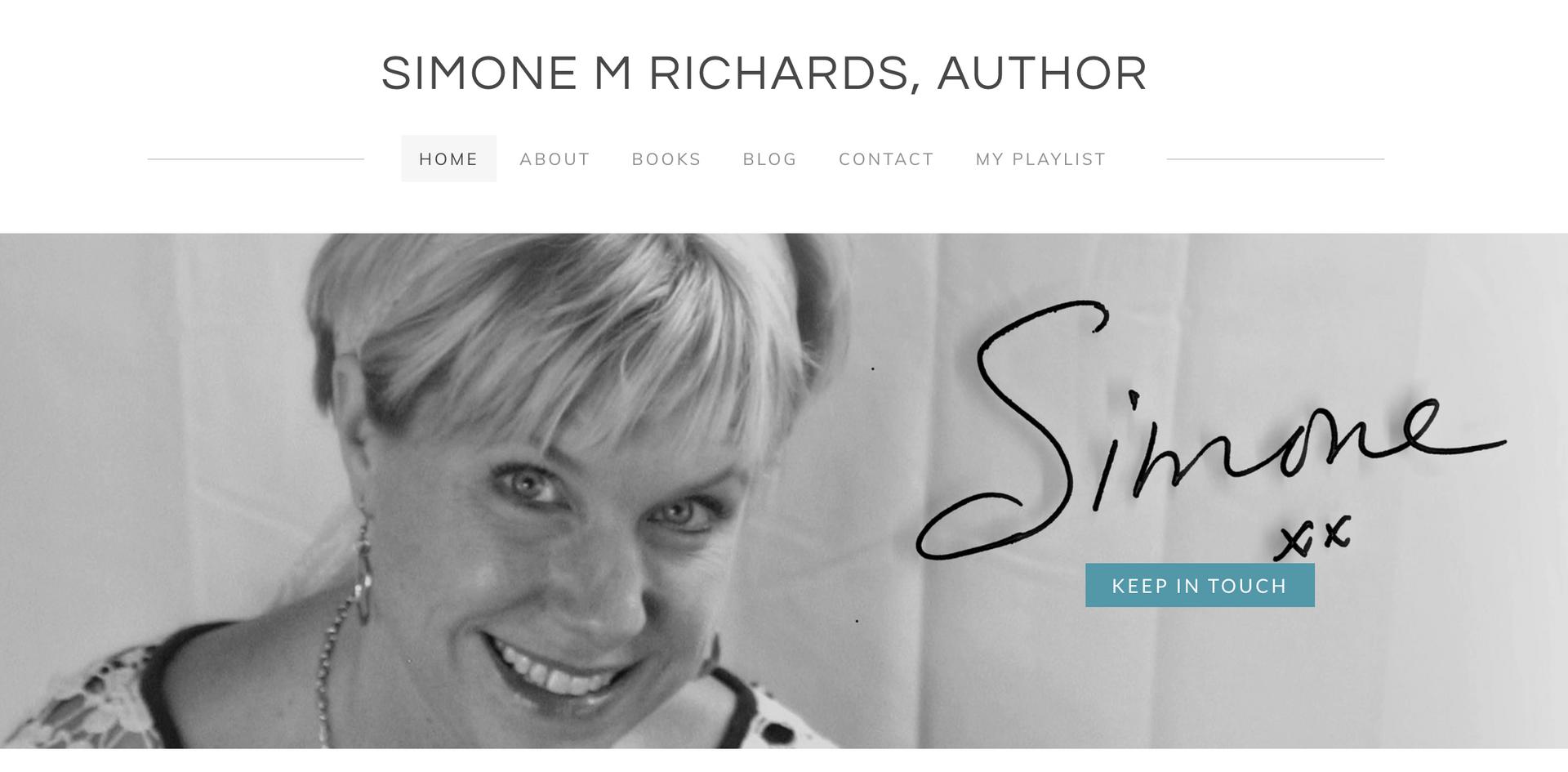 Simon Richards, Author Home Page