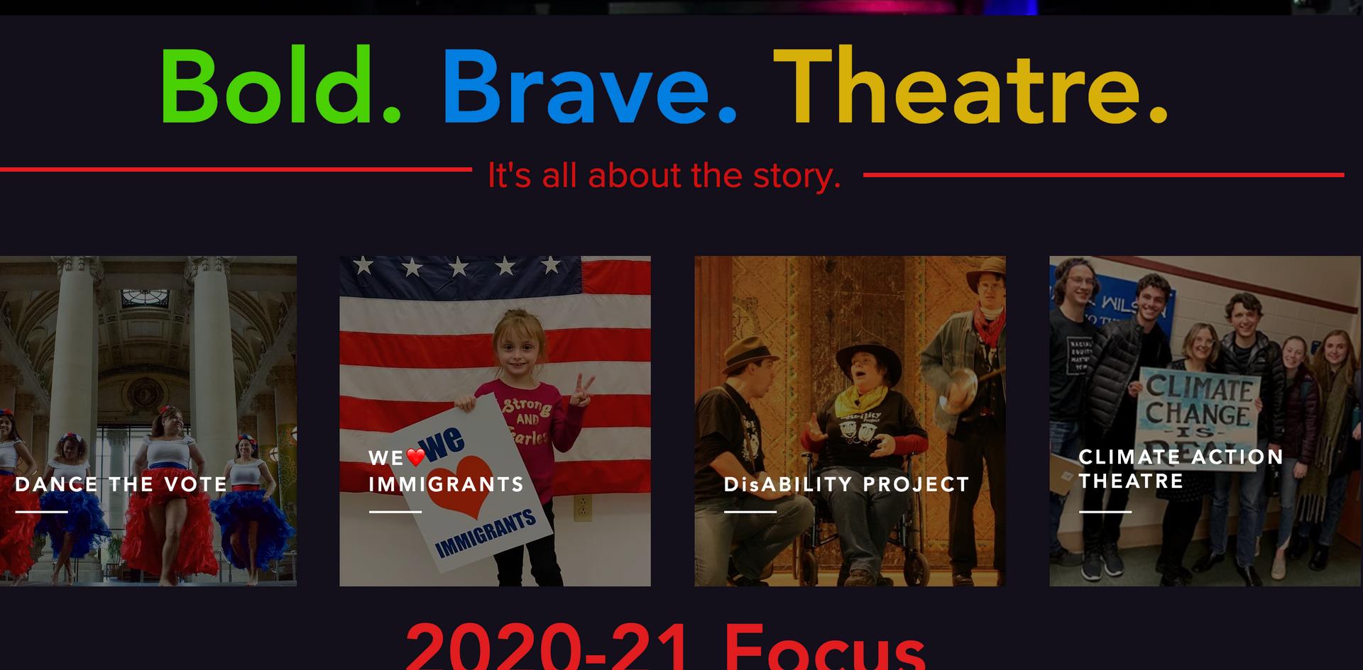 That Uppity Theatre Company Statements