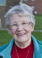 Photo of Christmas Care's Life President, Betty Spence.