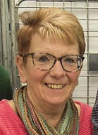 Photo of Christmas Care chairman, Diane Killick.