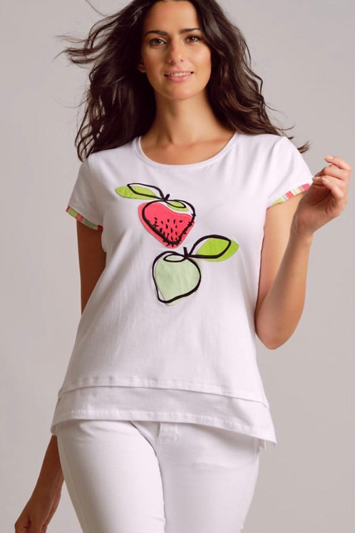 T-Shirt fraises Scorzzo