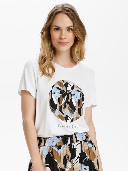 T-shirt Kakisa KAFFE
