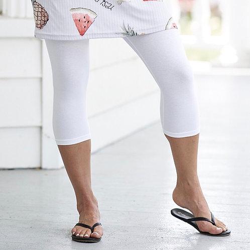 Legging 3/4 blanc Rien ne se perd