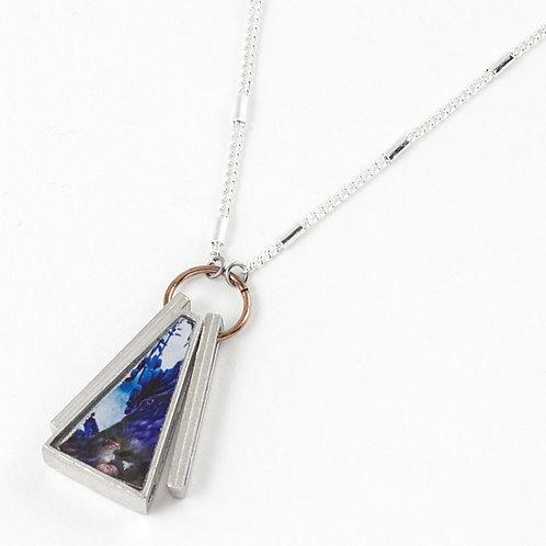 Collier Edwige cobalt Anne-Marie Chagnon