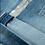 Thumbnail: Short en jeans, bande argentée Garcia