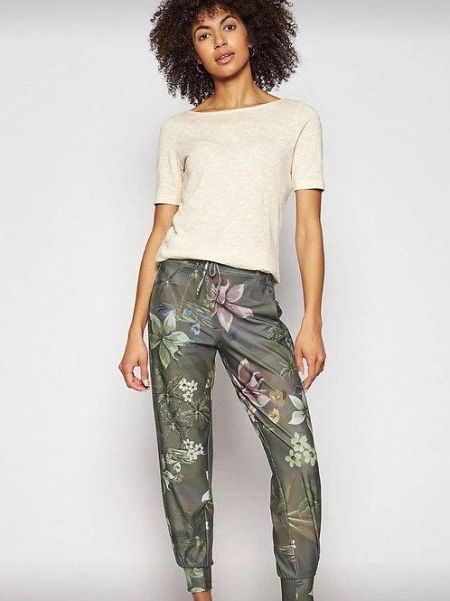 Pantalon cropped camo Desigual