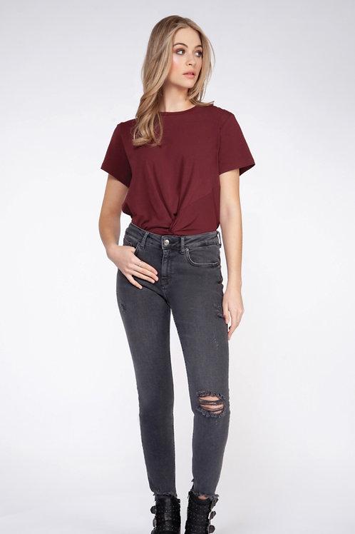 T-Shirt  bourgogne Dex