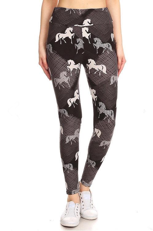 Legging chevaux