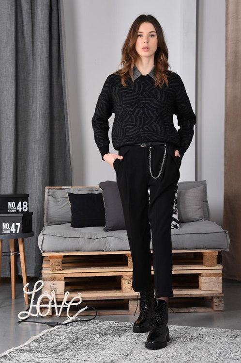 Pantalon ceinture et chaînette Molly Bracken