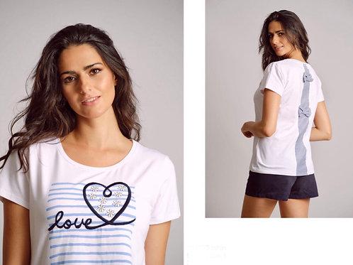 T-Shirt love Scorzzo