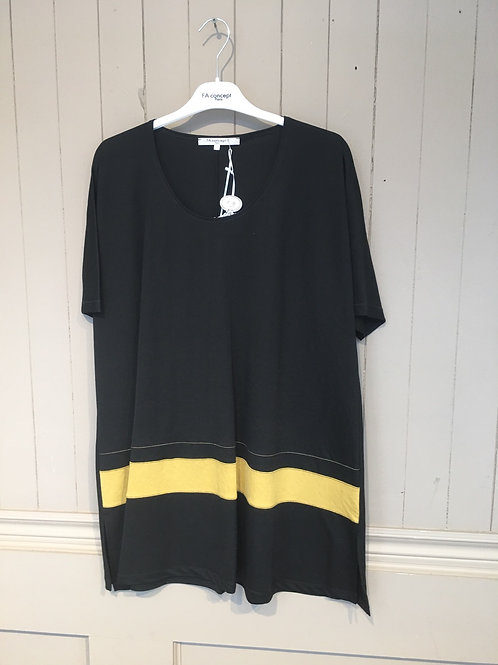 Tunique bande jaune FA Concept