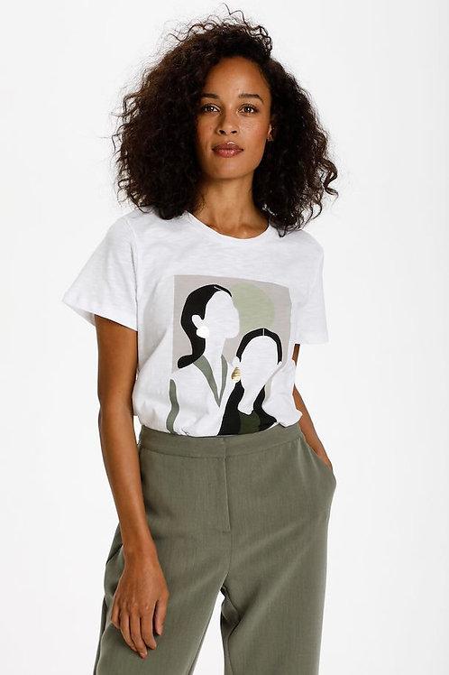 KAbritt T-Shirt faces Kaffe