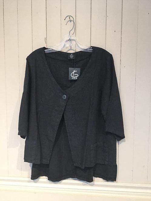 Veste noir G Osé