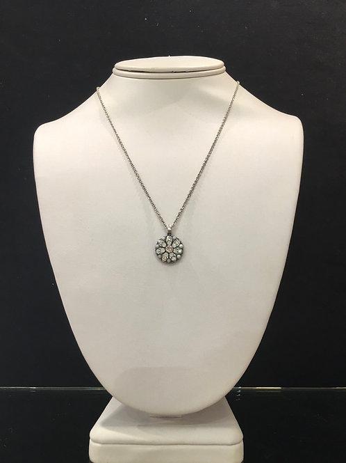 12-Collier Ange protecteur cristaux clair-opale-agathe Mariana