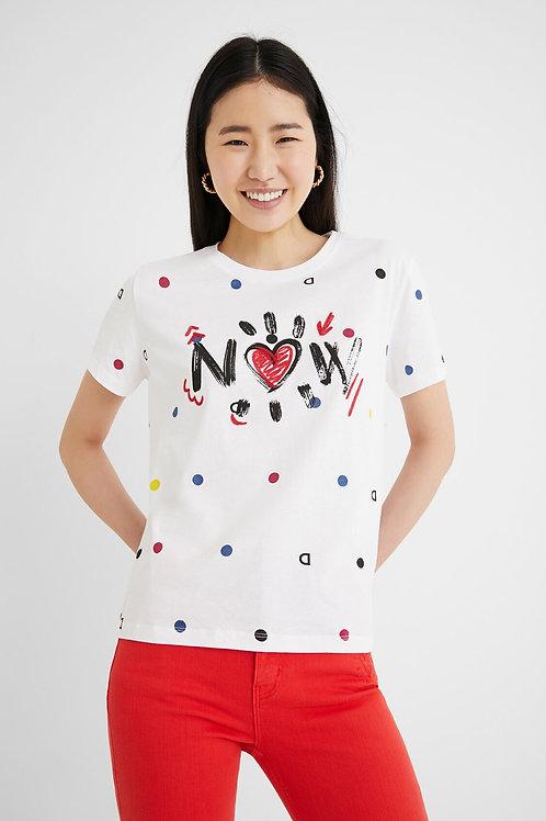 T-Shirt Now Desigual