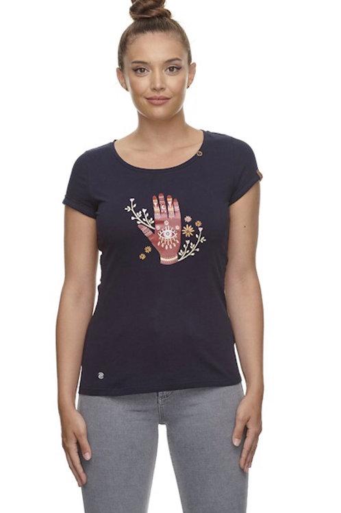 T-Shirt Florah marine Ragwear