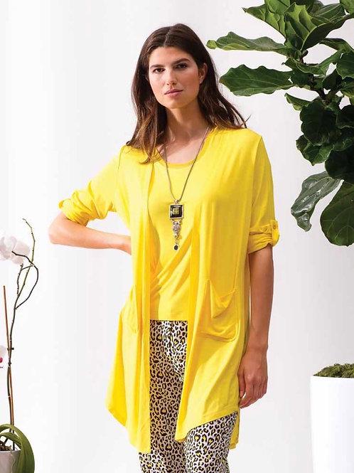 Cardigan léger jaune  Alison Sheri