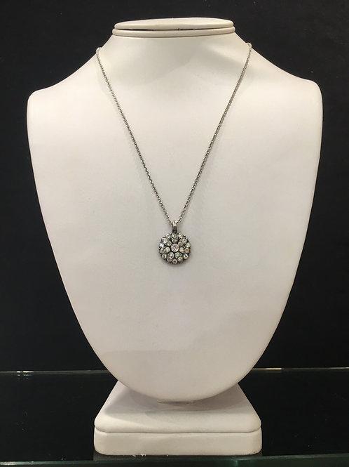 8-Collier Ange protecteur cristaux clair Mariana