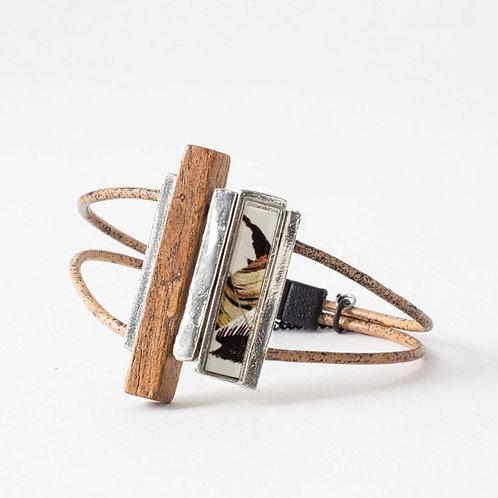 Bracelet Frantz fauve AMC