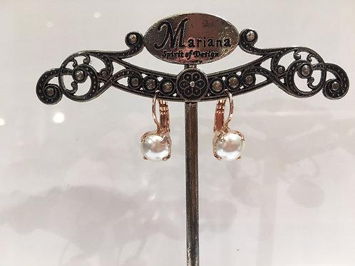 Boucles d'oreilles perles Mariana