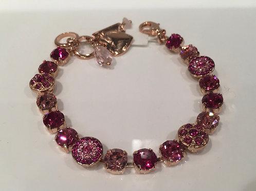 Bracelet cristaux roses Mariana