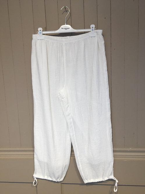 Pantalon 7/8  blanc FA Concept
