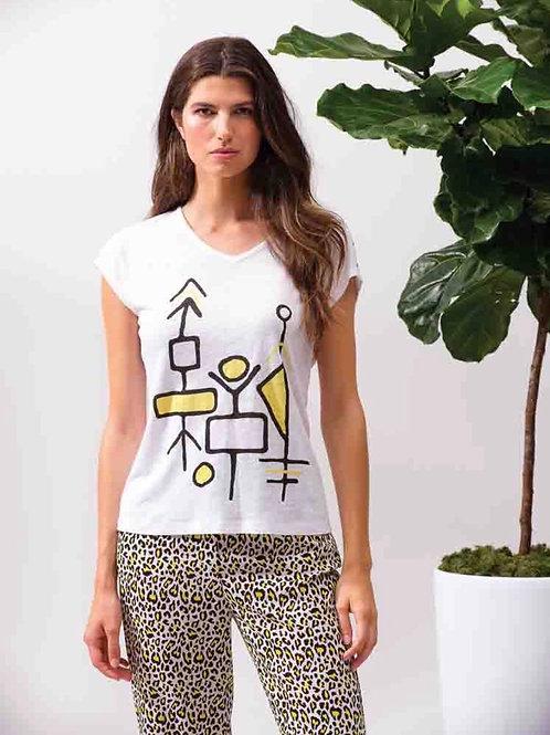 T-Shirt formes géométriques Alison Sheri