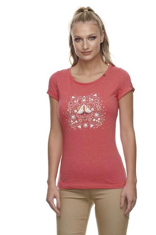 T-Shirt Florah rouge  Ragwear