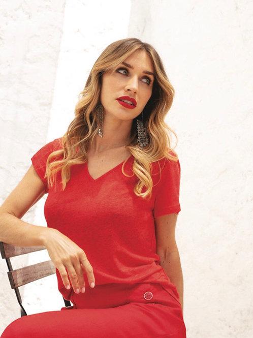 T-Shirt Move rouge  Maloka