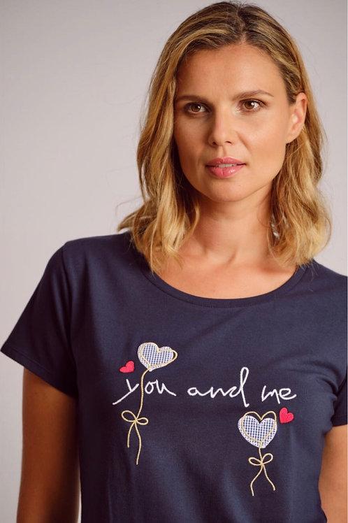 T-Shirt you and me Scorzzo
