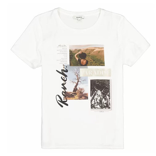 T-Shirt satiné Ranch Garcia