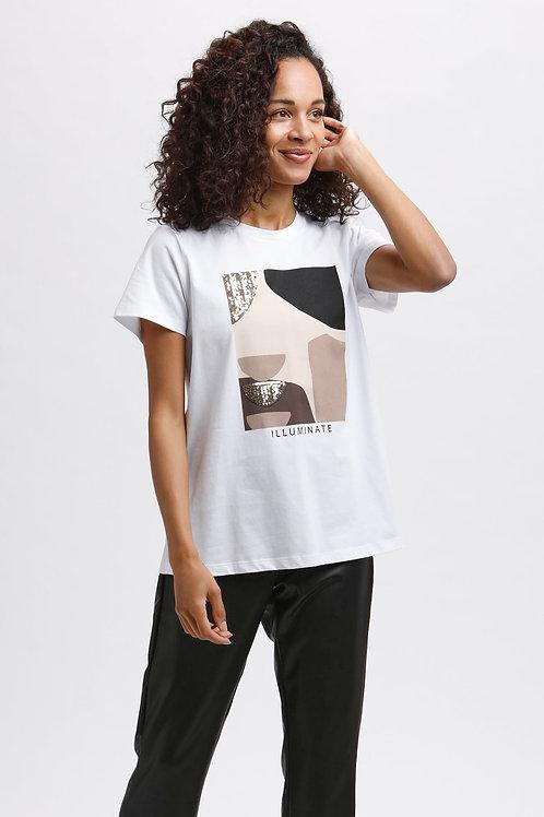 T-Shirt KAveraja Iluminate KAFFE
