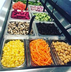 Veggie Line-up!