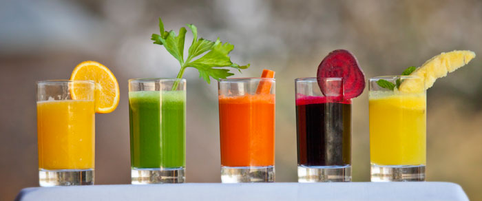 Fresh Squeezed Juices!