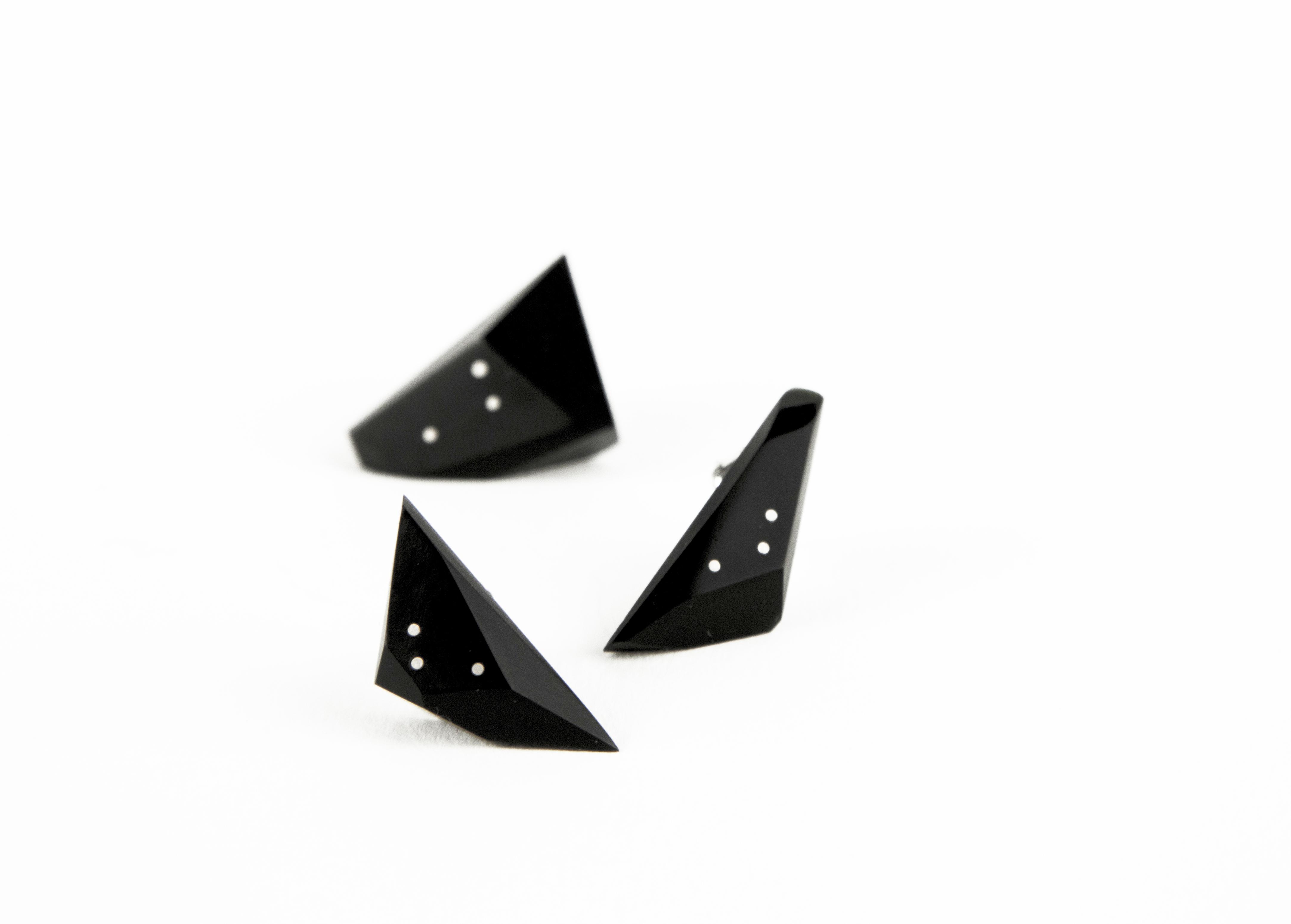 Shard Asymmetrical Studs