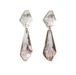 Medium Double Drop Earrings