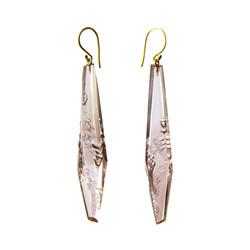 Rhoda Long Drop Earrings