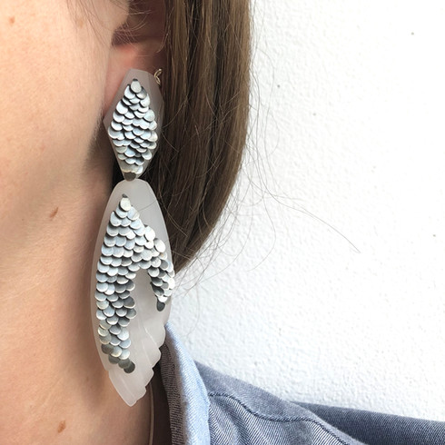 DOUBLE DROP EARRING