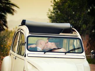 Le location esterne con gli sposi